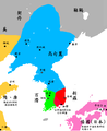Three Kingdoms of Korea Map-zh.png