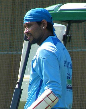 Sri Lankan Cricketer Tillakaratne Dilshan.