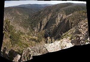 Tin Mine Falls - Image: Tin mine falls panorama 1