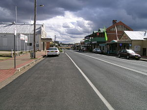 Tingha, New South Wales - Main street, Tingha