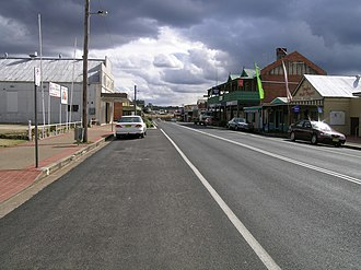 Tingha, New South Wales - Main street, Tingha