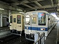Tobu 8000 series 84119 & 84111 at Bushu-Nagase Station.jpg