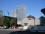 Tokyo Station restoration, 10 August 2011, 01.jpg