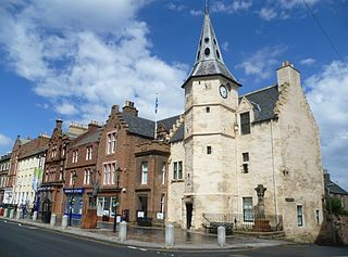 Dunbar town in East Lothian, Scotland