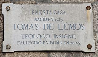 Tomas de Lemos Spanish theologian