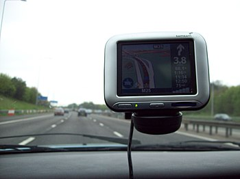 English: Photo of TomTom Go 500