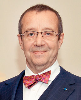 Toomas Hendrik Ilves Estonian politician who served as the fourth President of Estonia