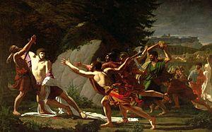 François Topino-Lebrun - The Death of Gaius Gracchus