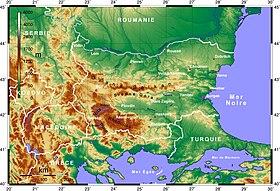 Géographie de la Bulgarie — Wikipédia