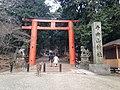 Torii of Tamukeyama Hachiman Shrine 2.JPG