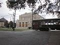 Touro Synagoge NOLA St Chas Streetcar passes.JPG
