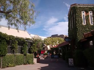 Town Center at Corte Madera - Town Center in July 2014.