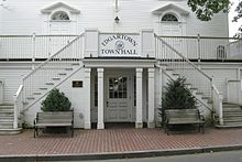 The town hall of Edgartown
