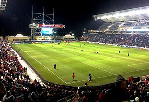 Chicago Fire Soccer Club - Toyota Park, Chicago Fire's home stadium since 2006