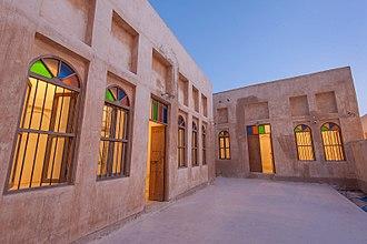 Qatari art - Traditional Qatari houses in Al Wakrah Heritage Village