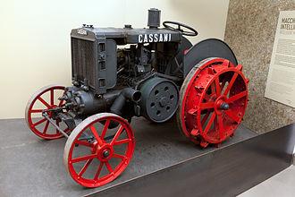 SAME (tractors) - Tractor Cassani model 40HP, at the Museo nazionale della scienza e della tecnologia Leonardo da Vinci of Milan.