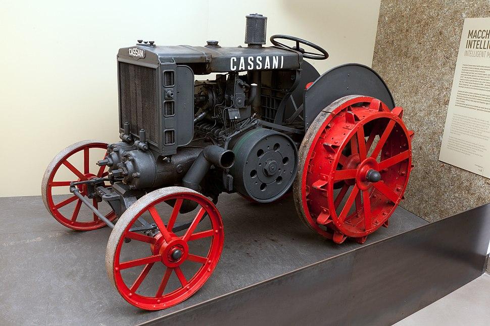 Trattore Cassani mod 40HP IMG 3337 Museo scienza e tecnologia Milano