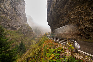 Trigrad Gorge - The Trigrad Gorge in autumn