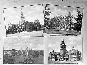 Harbord Collegiate Institute - Knox College, Victoria University, Trinity University, Harbord Street Collegiate Institute 1900-1925