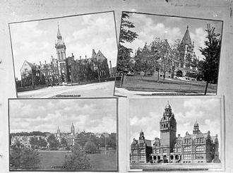 Harbord Collegiate Institute - Knox College, Victoria University, Trinity University, Harbord Street Collegiate Institute 1900-1925