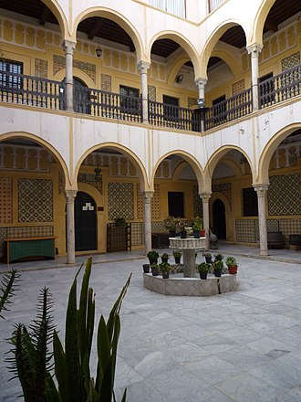 Karamanly House Museum - Image: Tripoli Karamanli Haus, 1750