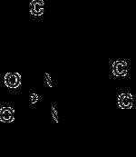 Skeletal formula of trofosfamide