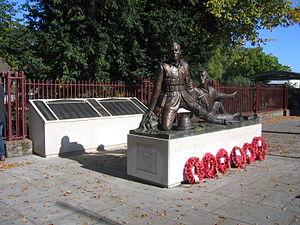 Fred Potts - Image: Trooper Potts VC & Berkshire Yeomanry Memorials