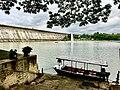 Tungabhadra dam from Brindavan Gardens.jpg