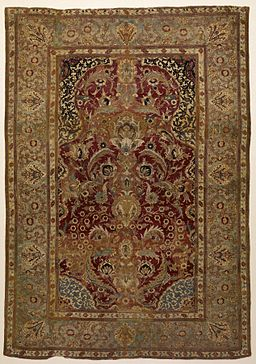 Turkish - Prayer Rug with Floral and Ornamental Designs - Walters 814 (2)