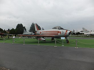 Istanbul Aviation Museum - Image: Turkish Air Force North American F 86F Sabre, Istanbul Aviation Museum
