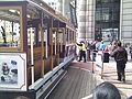 Turning the Powell st cable car around (6066322349).jpg