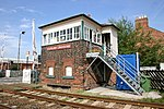 Tutbury and Hatton Station Signalbox - geograph.org.uk - 46140.jpg