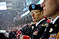 U.S. Army Maj. Gen. David J. Conboy, the commander of the 416th Theater Engineer Command, watches a National Hockey League (NHL) game at Soldier Field in Chicago March 1, 2014 140301-A-TI382-302.jpg