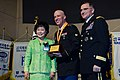 U.S. Army Spc. Ronald Bunno, assigned to the 2nd Assault Battalion, is recognized for his community outreach and selfless service during the People to People International (PTPI) awards banquet, with Gen. Curtis 131220-A-LI672-007.jpg