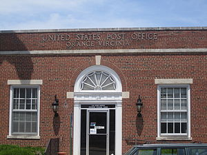 Orange, Virginia - Post Office