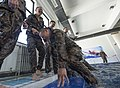 U.S. Reconnaissance Marines, Mongolian soldiers train on basic water survival techniques during Khaan Quest 2016 160526-N-WI365-129.jpg