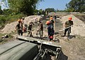 U.S. and Philippine sailors build a bridge during Balikatan 2013 in San Narciso, Philippines, March 19, 2013 130319-N-VN372-180.jpg