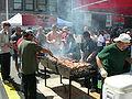 U. Dist. Street Fair 2007 grilling - 02.jpg