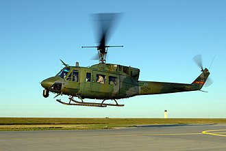 91st Missile Wing - UH-1N of the 54th Helicopter Sqn at Minot Air Force Base in 2005