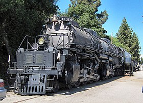Locomotiva Big Boy 4014 esposta a Pomona