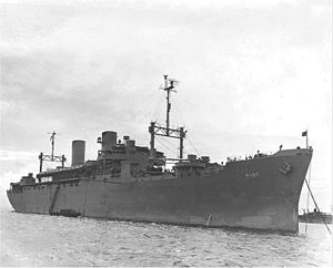 USS Admiral W. S. Sims (AP-127) - Image: USS Admiral W. S. Sims (AP 127)
