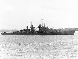USS Atlanta (CL-51) - Atlanta on 25 October 1942.