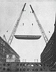 USS Lunga Point (CVE-94) under construction at Kaiser Shipyards, circa in January 1944.jpg