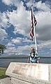 USS Nevada veteran visits memorial 121206-N-WX059-118.jpg