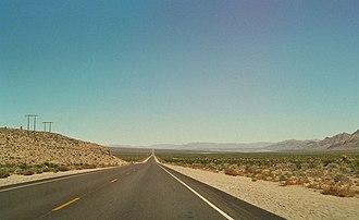 U.S. Route 93 - U.S. 93 heading towards Alamo, Nevada
