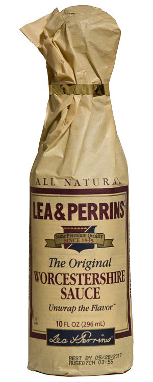 Worcestershire sauce - Image: US Lea & Perrins Worcestershire Sauce