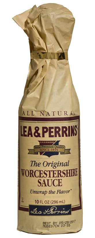 Worcestershire sauce - Image: US Lea & Perrins Worcestershire Sauce