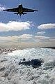 US Navy 050809-N-5549O-076 An S-3B Viking makes its approach for an arrested landing over the wake of the Nimitz-class aircraft carrier USS Ronald Reagan (CVN 76).jpg