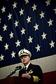 US Navy 071215-N-5549O-039 Chief of Naval Operation (CNO) Adm. Gary Roughead delivers his remarks during a 100th Anniversary Gala of the Navy's Great White Fleet.jpg