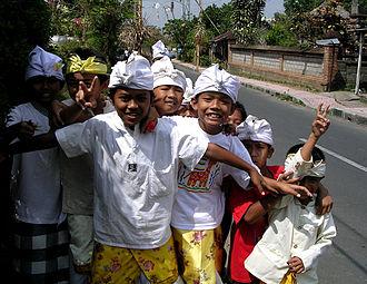 Native Indonesians - Native Balinese kids